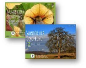Kartenset Wunder der Schöpfung 1 + 2 Kombipaket