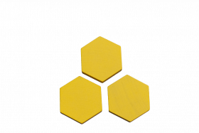Sechsecke gelb
