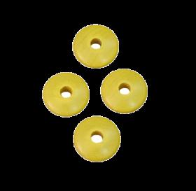 Linsenperlen gelb