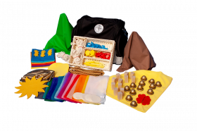 "Legematerial-Set ""Kinderkrippe"""