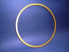 Holzreifen Gold 60 cm