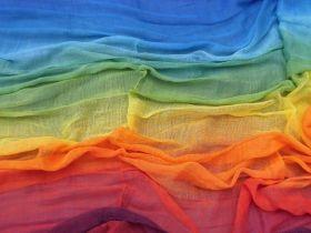 Regenbogentuch 120 x 80