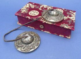 Zimbeln tibetisch in der Geschenkbox