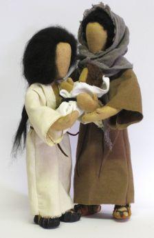 Bibelfiguren Heilige Familie