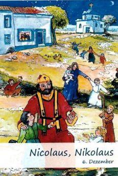 "Namenstagskarte ""Nikolaus"""