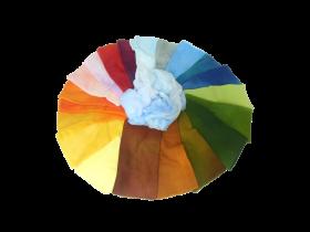 Gazetücher Einzelfarben