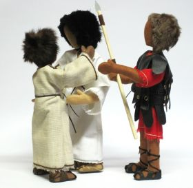 Bibelfiguren :Die Gefangennahme Jesu