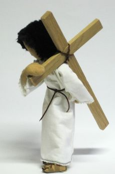 Bibelfigur: Jesus auf dem Kreuzweg
