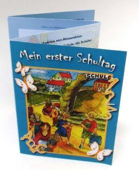 """Leporello """"Mein erster Schultag"""""""